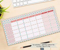 Deskpad Eléonore - 26,7X14cm