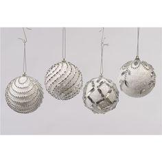 Kerstbal Met Kraaltjes