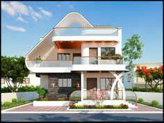 Nice design, where is the floors plan? Best Modern House Design, Classic House Design, Minimalist House Design, 2 Storey House Design, Bungalow House Design, House Front Design, Modern Exterior House Designs, Dream House Exterior, Exterior Design