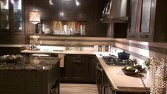 When you have to keep light countertop.  21 Dark Cabinet Kitchen Designs