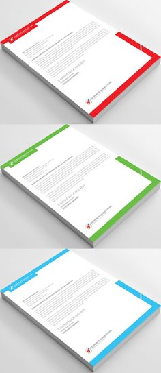Corporate Letterhead Template  Letterhead Template Letterhead
