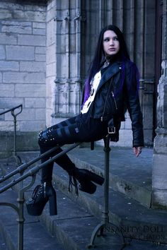 Image result for Photos of the Gothic model Insanity Doll