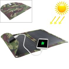 [$27.91] 10W Portable Folding Solar Panel / Solar Charger Bag for Laptops / Mobile Phones