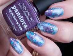 ChitChatNails »  » piCture pOlish Galaxy + 8 Crazy Nights