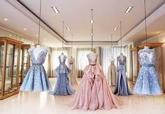 Here's an insider look into our Headquarters, where all the #magic happens and each unique dress comes alive.