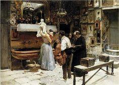 Ex-voto - Joaquín Sorolla - Completion Date: 1892