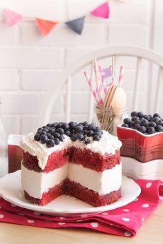 Pastel helado de Red Velvet 3