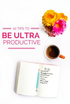 10 Tips to boost your productivity like crazy! Awesome tips for stay at home boss babes, entrepreneurs, and bloggers!