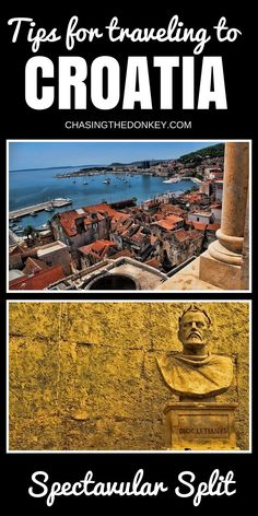 Things to do in Split, Croatia. Located on the eastern shore of the Adriatic Sea, has a long, long history. With Greek and Roman influence, Split has a rich culture, beautiful architecture and there is no shortage of things to see and do here. Add this place to you things to do in Croatia list!!