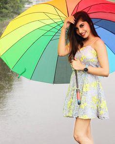 Do you love rainy season? Girl Photo Poses, Girl Photos, Rainy Season, Girl Swag, Perfect Skin, Stylish Dresses, Skirt Fashion, Photography Poses, Cute Girls