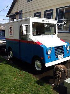 Old USPS Trucks | Details about 1971 Vintage USPS Ford Mail Truck Postal Vehicle