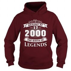 17 Year 2000 The Birth of Legend T Shirt Hoodie Shirt VNeck Shirt Sweat Shirt Youth Tee for Girl and Men and Family #2000 #tshirts #birthday #gift #ideas #Popular #Everything #Videos #Shop #Animals #pets #Architecture #Art #Cars #motorcycles #Celebrities #DIY #crafts #Design #Education #Entertainment #Food #drink #Gardening #Geek #Hair #beauty #Health #fitness #History #Holidays #events #Home decor #Humor #Illustrations #posters #Kids #parenting #Men #Outdoors #Photography #Products #Quotes…