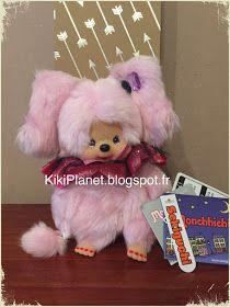 Monchhichi Mischief Halloween Mcc Plus Pinky Girl - réf 231584, kiki,sekiguchi, halloween