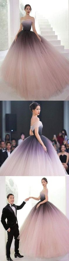 prom dresses long, prom dresses cheap, prom dresses prom dresses ombre, prom dresses – Vintage is our JOB! Ombre Prom Dresses, Prom Dresses 2018, Prom Dresses With Sleeves, Wedding Dresses Plus Size, Cheap Prom Dresses, Quinceanera Dresses, Trendy Dresses, Ball Dresses, Cute Dresses