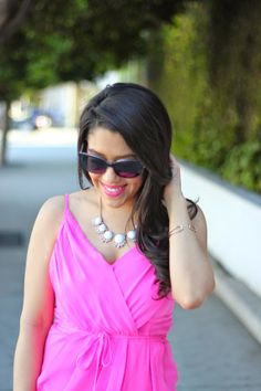A Love Affair With Fashion : Little Pink Dress