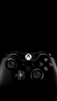 PlayStation 4 and Xbox One on black iPhone 5 Wallpaper