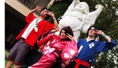 Mugen, Jin, and Fuu from Samurai Champloo #mugen #jin #fuu #samuraichamploo #cosplay