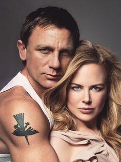 Nicole Kidman and Daniel craig ; The Golden Compass 2007 + The Invasion 2007 cast