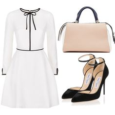 Untitled #3699 by evalentina92 on Polyvore featuring moda, Ted Baker, Jimmy Choo and MaxMara