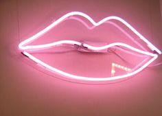 lips, pink, and light image