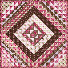 Braided Love Quilt Pattern (free)