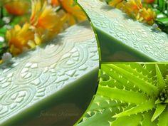 Jabón Aloe vera y rosa mosqueta. Aloe vera soap and rosehip