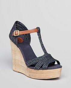 92e21a7124b Tory Burch Platform Wedge Sandals - Carina Shoes - Bloomingdale s
