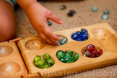 Mancala for color sorting {37 months}