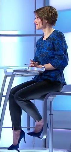 Melanie Taravant ... suite - Les jambes, pieds et talons hauts vus à la télé et au cinema
