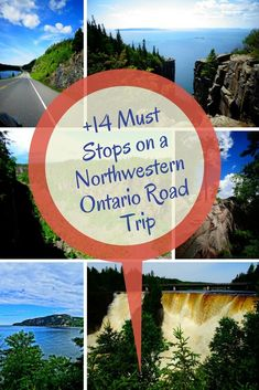 Travel to Northern Ontario to see some epic places in Ontario with this amazing Northwestern Ontario road trip that includes 14 EPIC stops! Alberta Canada, Ontario Travel, Ontario Camping, Canada Vancouver, Vancouver Travel, Canadian Travel, Canadian Rockies, Toronto, Canada Destinations