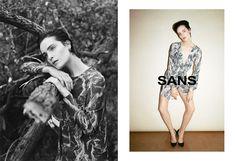 printed dress, SANS, www.sans-hf.com