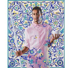 Kehinde Wiley http://www.vogue.fr/culture/a-voir/diaporama/the-world-stage-l-histoire-reinventee-par-kehinde-wiley-a-la-galerie-daniel-templon/10612/image/645195#!emperor-napolean-i-2012