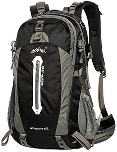 adaab44556d WATERFLY Professional Waterproof Outdoor Sports Climbing Backpack Bag Cover  Mountaineering Backpack Shoulder Bag Camping Hiking Backpack Rucksack  Daypack ...