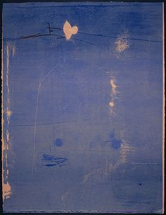 FRANKENTHALER, Helen  , United States of America 1928    , Cameo 1980  , relief  colour woodcut printed from five woodblocks