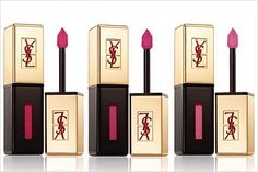 YSL Vernis à Levres: innovation for polished lips in a product that crosses the features of a gloss, a lipstick and an enamel!
