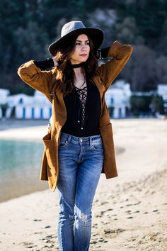 mare d'inverno Look Boho Chic, The Chic, Cowboy Hats, Attitude, Bohemian, Casual, Beauty, Ideas, Style