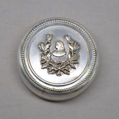 Joan of Arc Vintage French Pill Box Compact by FrenchQueensRansom, $60.00
