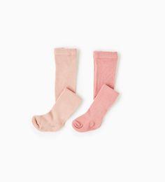 Imagem 1 de Pack dois pares de meias lisas da Zara
