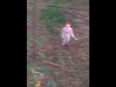 Draven Riffe posted a video to his Facebook recently, showing a knife wielding clown walk right to his treestand while he was hunting one afternoon.