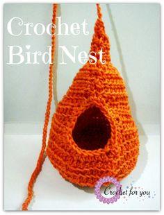 Crochet Bird Nest