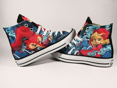 8144331670bc The Red Riding Hood custom shoes converse by AnnatarCustomizer Rubber  Texture