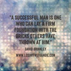 #success #foundation #opportunity #business #entrepreneur  #leadership #lawsofattraction #loa #acn #vemma #usana #monavie #wealth #health #livewell   Www.LosinItWithAngie.com