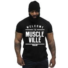 CT Fletcher - Muscleville Tee - Black