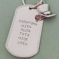 Dreaming With Your Eyes Wide Open - Greatest Showman - Hand-stamped Keychain Pt Barnum, Theatre Nerds, Theater, Light Film, The Greatest Showman, Film Serie, Great Movies, Etsy Handmade, Movies And Tv Shows