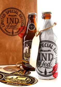 IndHED™ Limited Edition // Branding / Packaging design on Behance