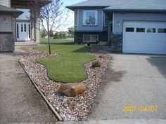 Two neighbours work together to create a unique alternative to splitting an awkward front yard.