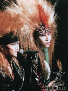 more hide & toshi Hidden Love, Tokyo Dome, Namjin, Visual Kei, Idol, Japanese, Artist, Eyes, Rocks