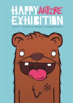 happy artcore exhibition