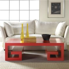 Malibu Loft Platform Cocktail Table- $3000, i really feel like I could make this