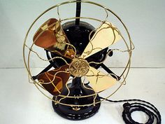 LOVE this GE FAN from RSSA Vintage Boutique